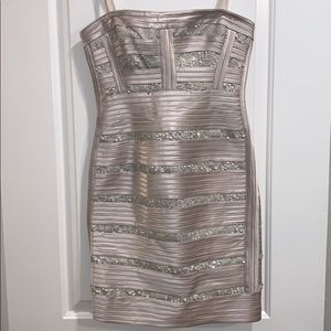 BCBGMaxAzria Sequin Dress